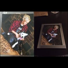 my TJREtta came in a huge thank you to you @TommyJoeRatliff & u shocked me by signing it you are a sweetheart