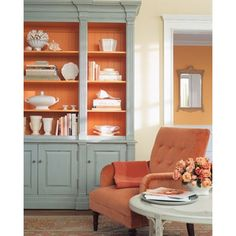 Spring Trend Tango With Tangerine Home Decor Here Is Another Color Combination That I Love