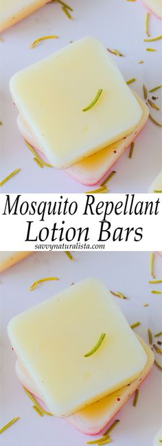 Mosquito Repellent Lotion Bars: