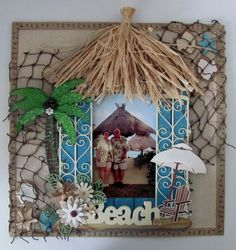 Puerto Morelos - Beach Hut - Scrapbook.com
