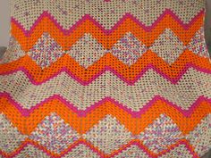 Granny and Granny Ripples Afghan