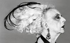 Quentin Crisp..I met him in his favouriteNY coffeeshop...  gone now.. his biggest tip to the world was - don't dust,,,after the first layer, it doesn't get any worse...