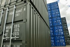 See our full range of shipping containers online now! Container Sales, Containers For Sale, Used Shipping Containers, Container Conversions, 30 Years, Multi Story Building, Range, Outdoor Decor, Green