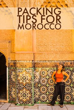 Wondering what to pack before you go to Morocco? Here are the top travel packing tips for Marrakech, Chefchaouen the Sahara and beyond!