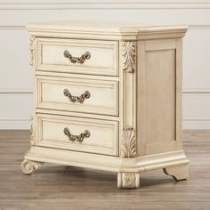 Found it at Wayfair - Cavas 3 Drawer Bachelor's Chest