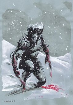 Weapon X by Dave Stokes