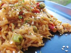 Chef Tess Bakeresse: Vegetable Fried Rice in a Jar (52 Method Continues)