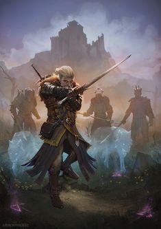 The Witcher,Ведьмак, Witcher, ,Игры,Игровой арт,game art