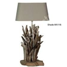driftwood table lamps - Google Search