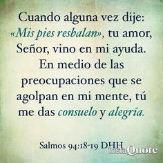 Salmo 94:18-19