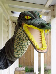 Ken Harper's crocodile from Punch and Judy.