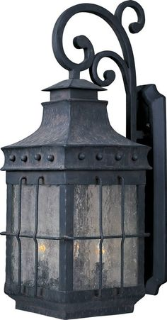 "0-092572>32""""h Nantucket 4-Light Outdoor Wall Mount Country Forge"