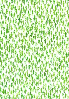 Forest pattern by Lu Green, via Flickr