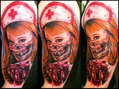 Sexy horror nurse by Ganso Galvao