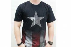 cap's themed t-shirt