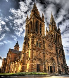 The breathe-taking St.Mary's Cathedral in Sydney  Book flights>>https://www.travelstart.com.eg/  #travelstartegypt #travel #oceania #australia   Pin saved from: flickr.com