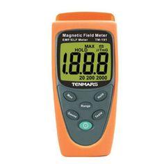 High Quality EMF Electromagnetic Magnetic Field Meter Tester Gauss Meter TM-191 #Affiliate