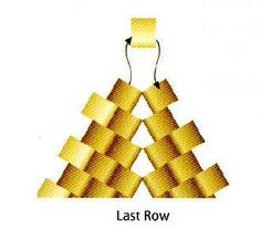 Start up row for triangle base