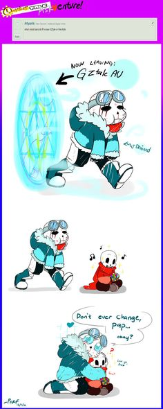 QuantumTale ASKVENTURE!: IF TK WENT TO GZTALE AU! by perfectshadow06.deviantart.com on @DeviantArt