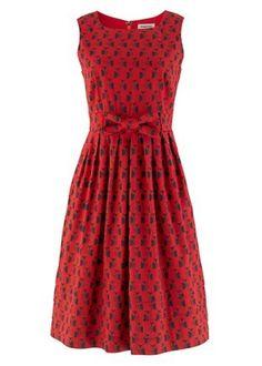 Red Owl Dress by Orla Kiely