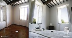 Restyling Camera Home Stagin camera da letto PRIMA E DOPO / Bedroom makeover Home Stagin BEFORE AND AFTER
