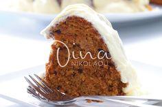 πεντανόστιμο κέικ καρότου - Κέικ-Σουφλέ - Ντίνα Νικολάου Flan, Cake Recipes, Dessert Recipes, Desserts, Brownies, Angel Cake, Cupcakes, Something Sweet, Carrot Cake