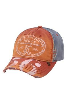 cbd54a0acd8 True Religion Brand Jeans  Stampy  Baseball Cap available at  Nordstrom  Vintage Trucker Hats