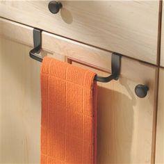"Interdesign Axis Over-Cabinet Towel Bar 9"" L Bronze | Kitchen Stuff Plus #KSPPin2Win"