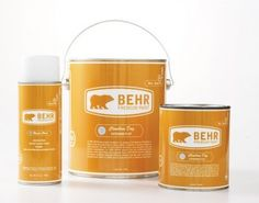 Paint - Collection Food Packaging, Brand Packaging, Coat Paint, Paint Brands, Logo Design, Graphic Design, Packaging Design Inspiration, Package Design, Florida