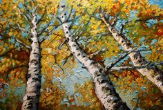 Silver Birch Tree by Nizamas, Etsy