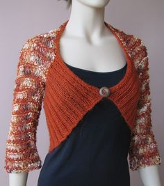 another recycled sweater project