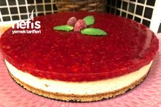 Frambuazlı Cheesecake - Nefis Yemek Tarifleri - How to make Raspberry Cheesecake Recipe? Illustrated explanation of the Raspberry Cheesecake Recipe in the book of people and photographs Raspberry Cheesecake, Cheesecake Recipes, Christmas Cheese, Lemon Curd, Cheesecakes, Yummy Food, Healthy Recipes, Yummy Recipes, Meals