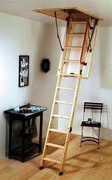 The Telesteps Black Line Mini Loft Ladder Model Is A