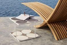 Liegestuhl Nozib aus Holzlatten von  Skargaarden