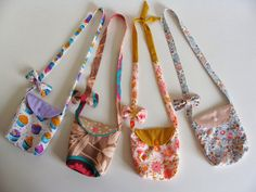 orphyse: Idée cadeau pour petite fille tuto du sac et du noeud