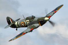 "Hawker ""Hurricane"" Mk.IIb- Dunsfold Wings and Wheels."