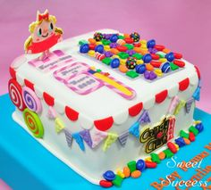 WOW! Candy Crush Cake - by SweetSuccess @ CakesDecor.com - cake decorating website