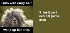 """Una top list di rimedi per """"i ricci del giorno dopo"""" su capelliricci.it #capelliricci"""
