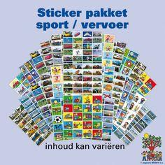Sticker pakket Sport en Vervoer