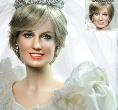 Princess Diana doll by Noel Cruz