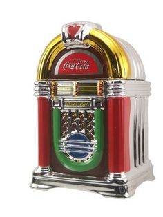 Coca-Cola Jukebox Cookie Jar