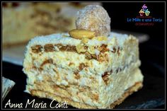 Raffaello cake with saiwa gold biscuits - Torta di formaggio - Funnel Cake Great Desserts, No Bake Desserts, Delicious Desserts, Torta Pompadour, Best No Bake Cookies, Sweet Recipes, Cake Recipes, Cake Calories, Classic Cake