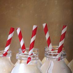Milk - óleo sobre tela - artista: Rosemary Norte