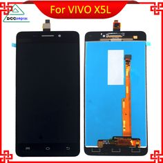 Original Quality For VIVO X5L FPC9329A LCD Display With Touch Screen White Black Color Mobile Phone Repair Parts Free Tools