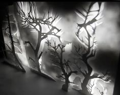 Installation/projection TREES