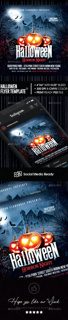 Halloween Flyer by MithilaCreation | GraphicRiver