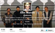 Fotos Twitter de portadas de Alex Mizrahi