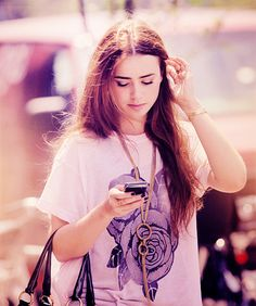 Lilly Collins is clearly my woman crush