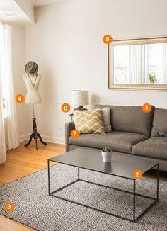 Shop the Room: Kim & Kyle's Calming Living Room