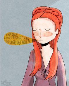 Sansa by @Nan Li Li Lawson